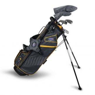 UL63-s 5 Club Stand Set, Grey/Gold Bag