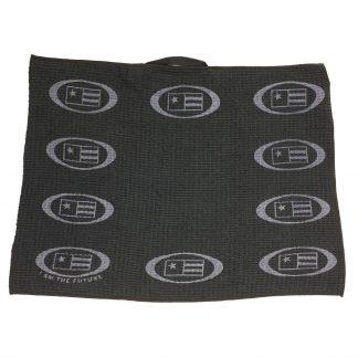 USKG Microfiber Golf Towel, Black