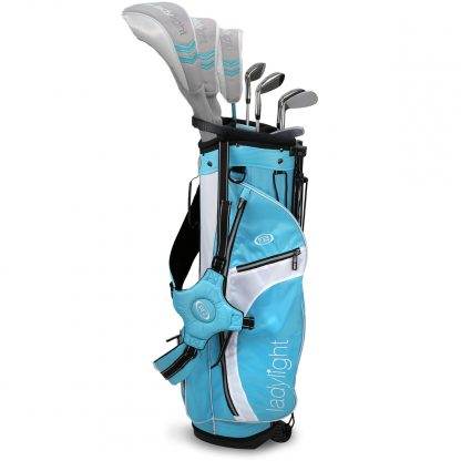 Ladylight 8-Club Set AV1, Teal/White Bag