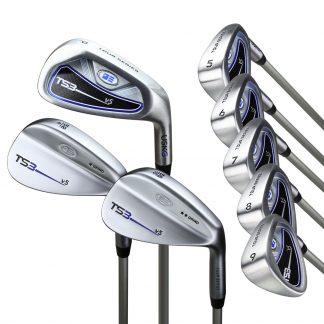 TS3-66 8 Club Iron Set, Steel Shafts