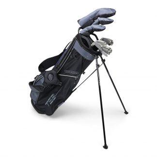 TS3-66 10 Club Set, Graphite Shafts, Charcoal/Black Bag