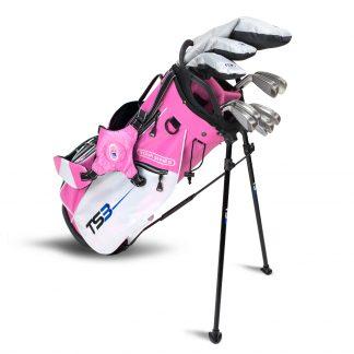 TS3-66 10 Club Set, Graphite Shafts, Pink/White Bag
